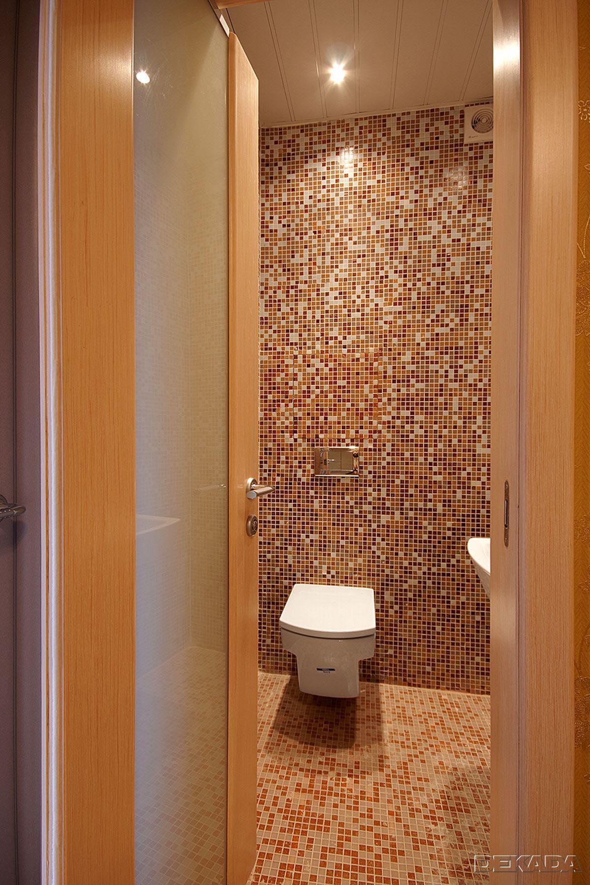 туалет в мозаике фото