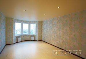 Пастельные цвета в оформлении интерьера. Потолки специально подобраны по цвету в тон у полам