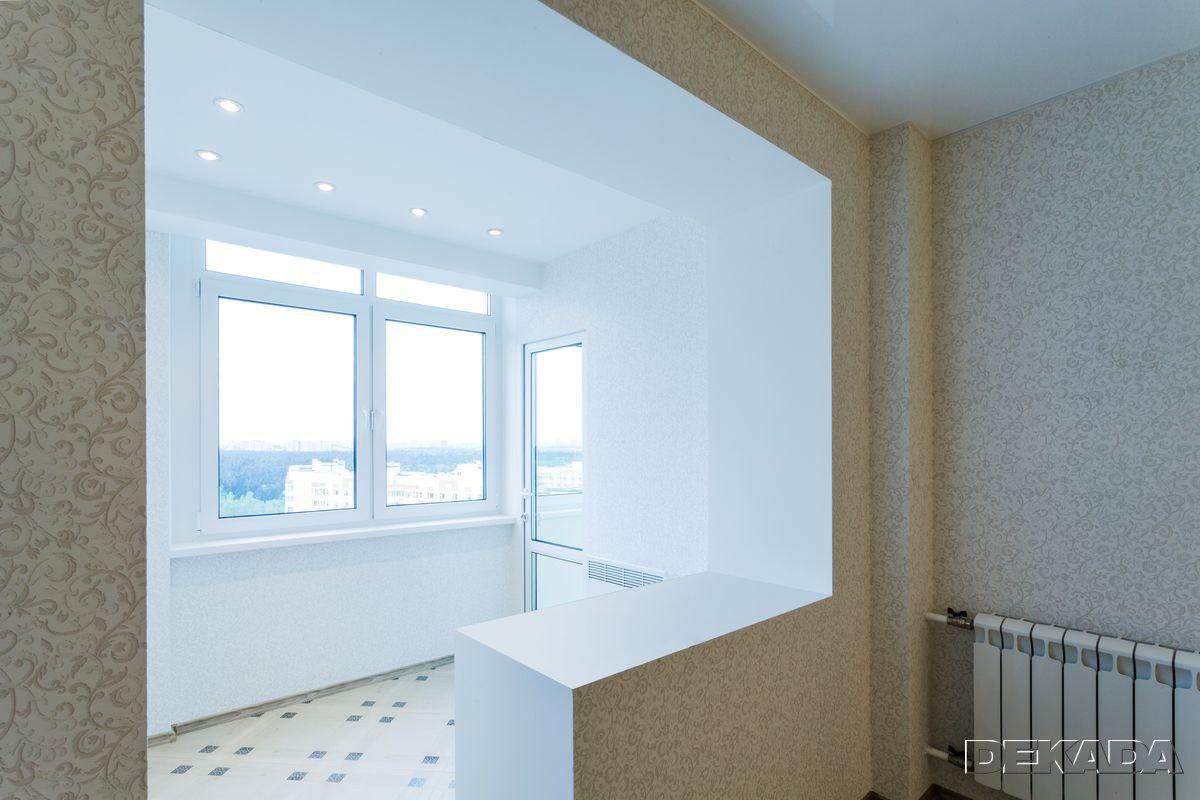 Фото отремонтированной квартиры по адресу: ул. лукинская, д..