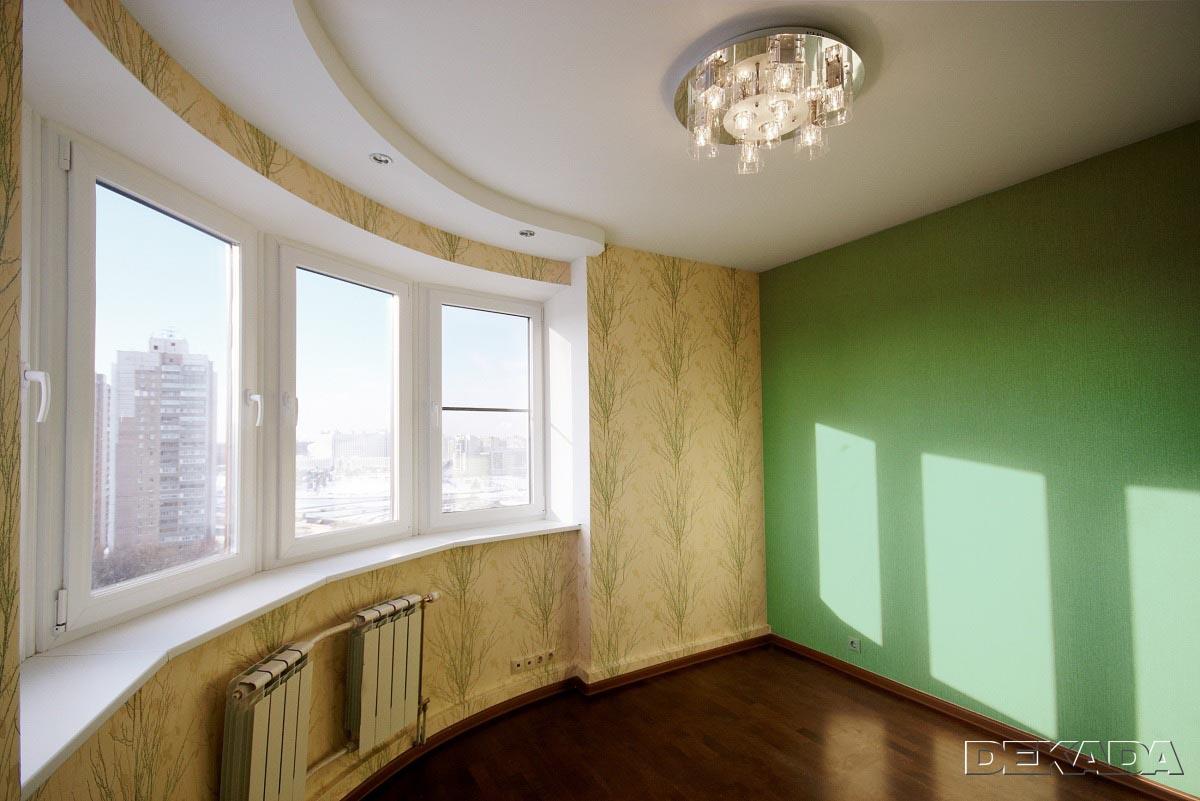 Полукруглая комната фото